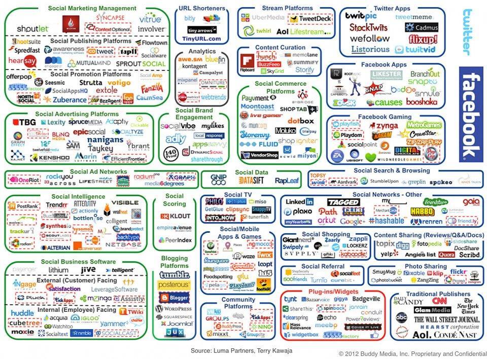 servizi social media marketing (Buddy Media)