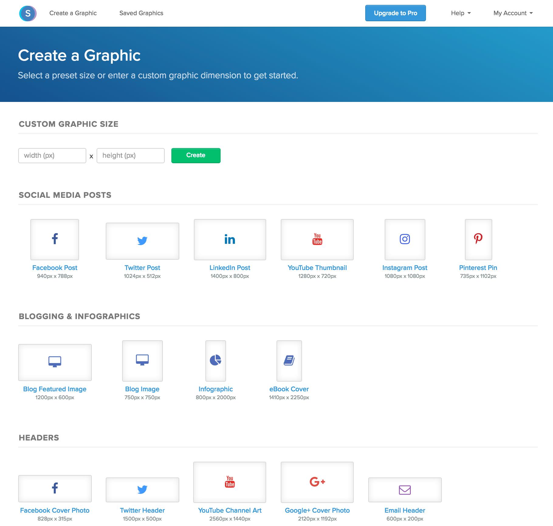 Snappa (strumento per creare immagini social)