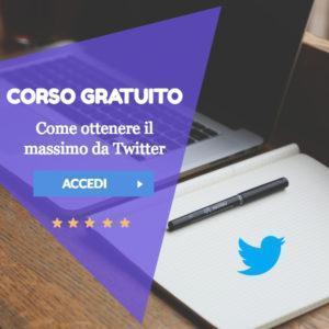 corso gratuito twitter