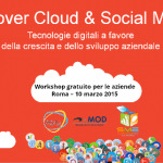 Evento cloud computing e social media