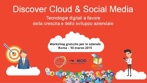 Evento cloud computing e social media