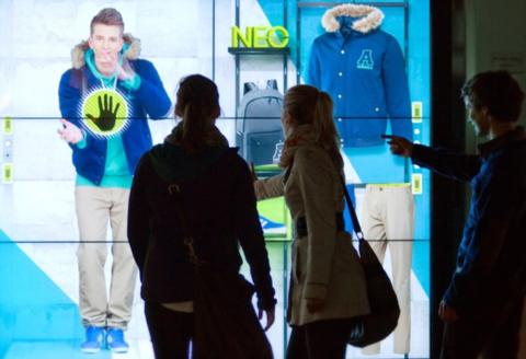 digital marketing PMI (adidas NEO store)