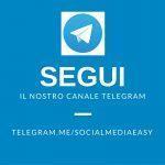 canale telegram - social media easy