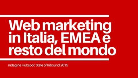web marketing in EMEA