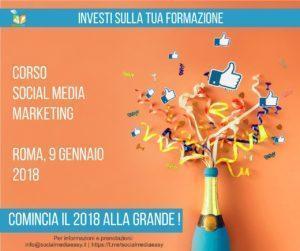 corso social media marketing gennaio 2018