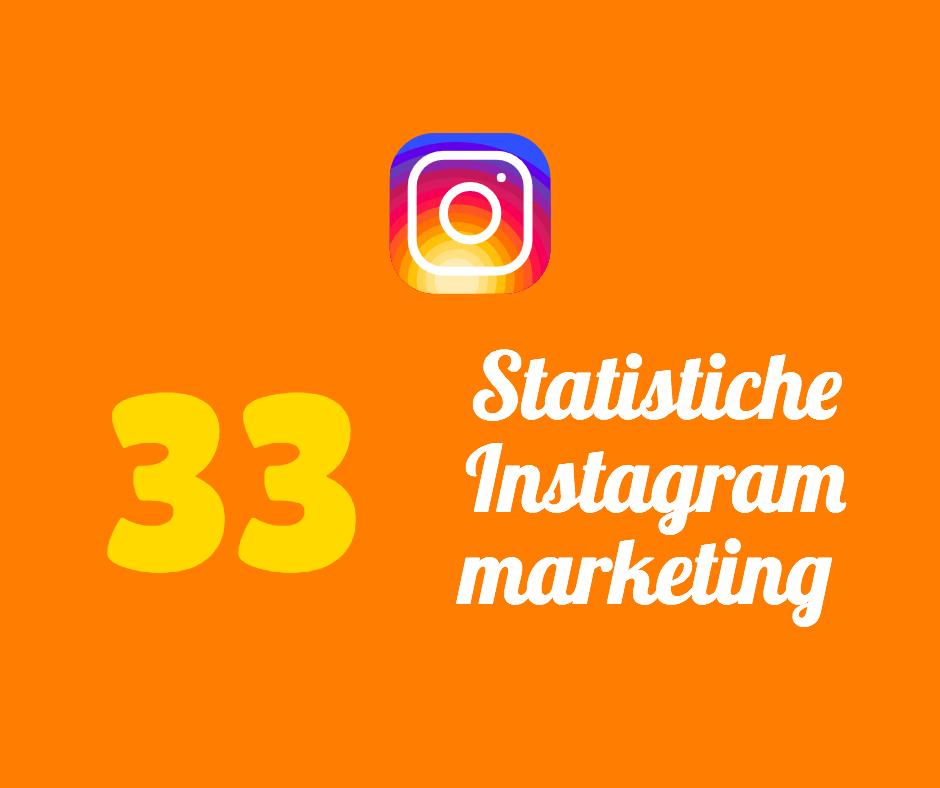 33 statistiche instagram marketing