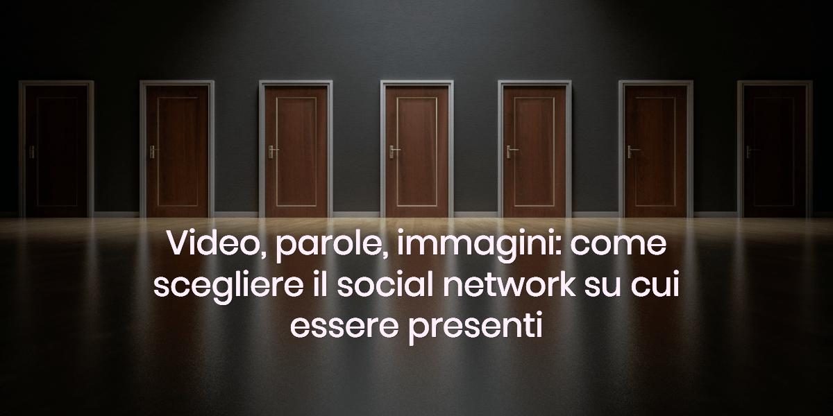 scegliere social network
