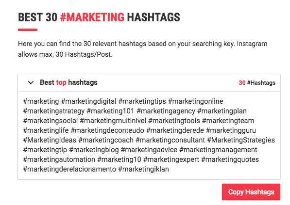 all hashtag
