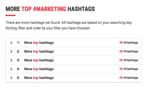 alternative hashtags
