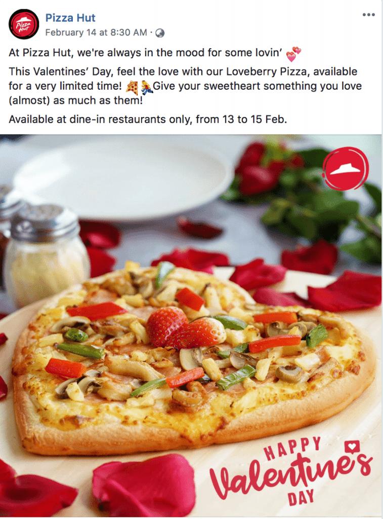 esempio pizza hut