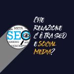 relazione social media seo blog post
