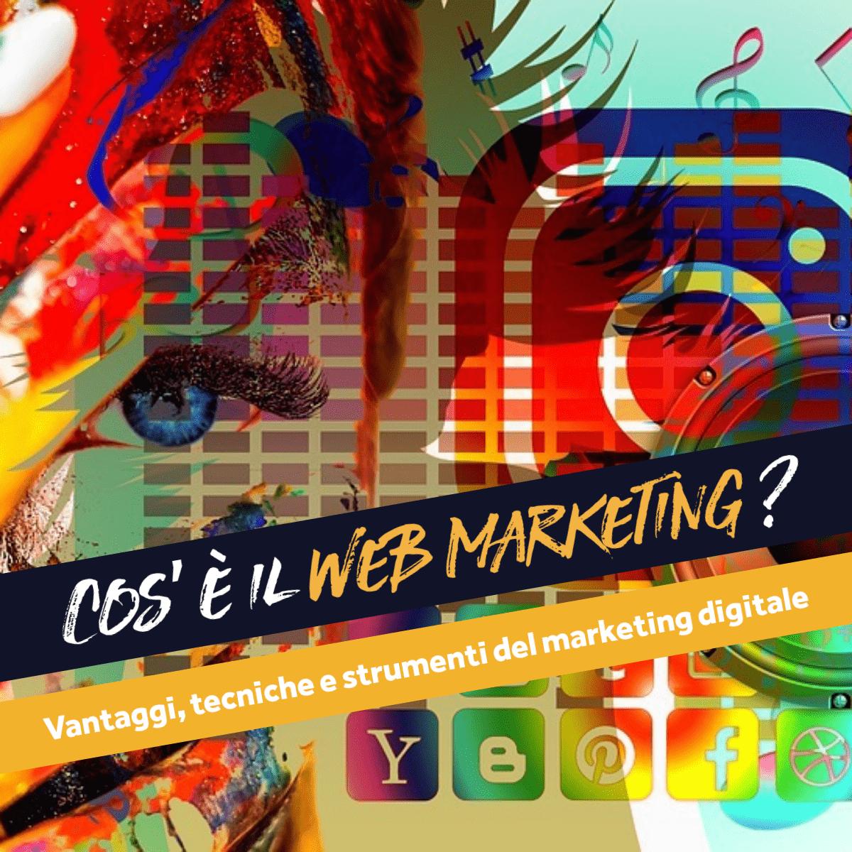 web marketing cosa è?