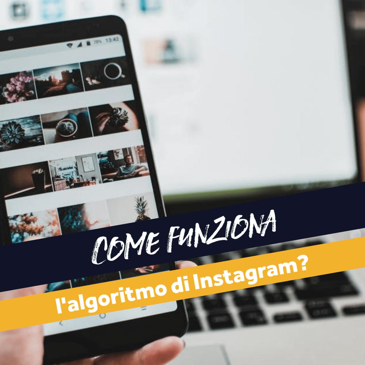 algoritmo instagram come funziona