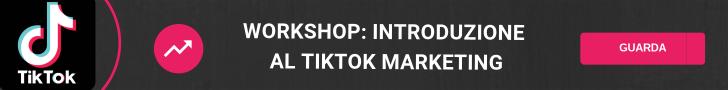 workshop Introduzione al TikTok marketing